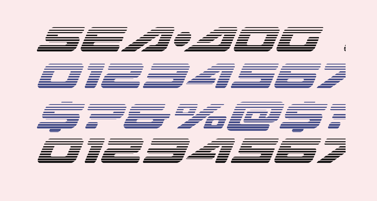 Sea-Dog Gradient Italic