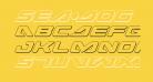 Sea-Dog Outline Italic