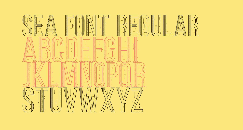 Sea Font Regular
