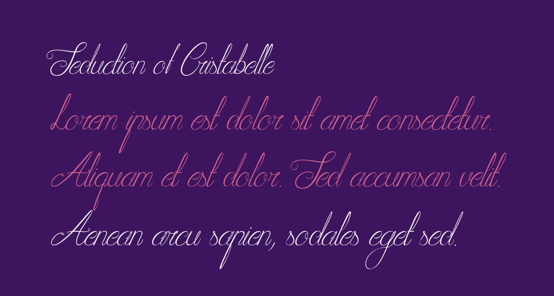 Seduction of Cristabelle