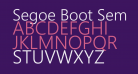 Segoe Boot Semilight