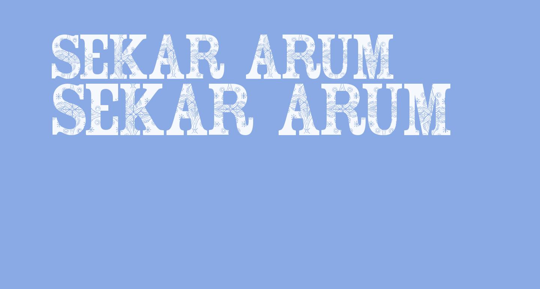 Sekar Arum