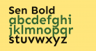 Sen Bold