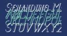 Senandung Malam 3D Bold Italic
