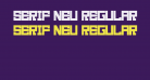 Serif Neu Regular