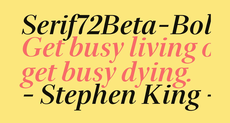 Serif72Beta-BoldItalic