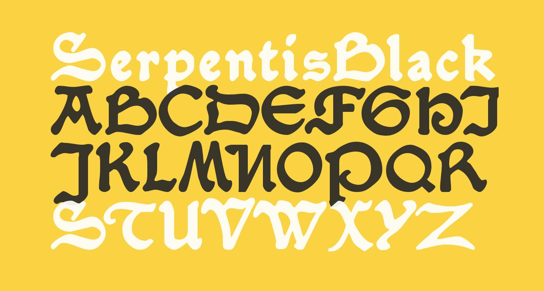 SerpentisBlack