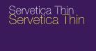 Servetica Thin