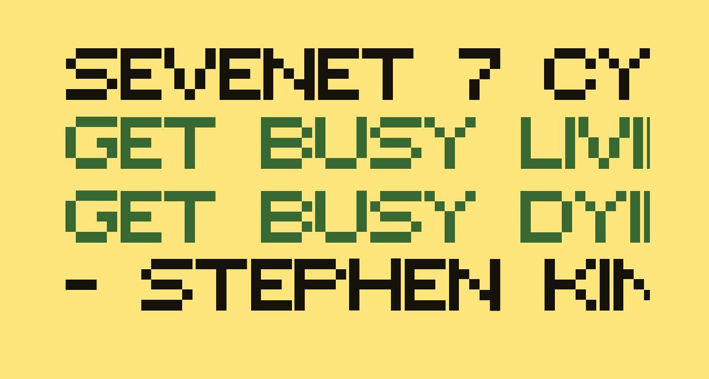 Sevenet 7 Cyr