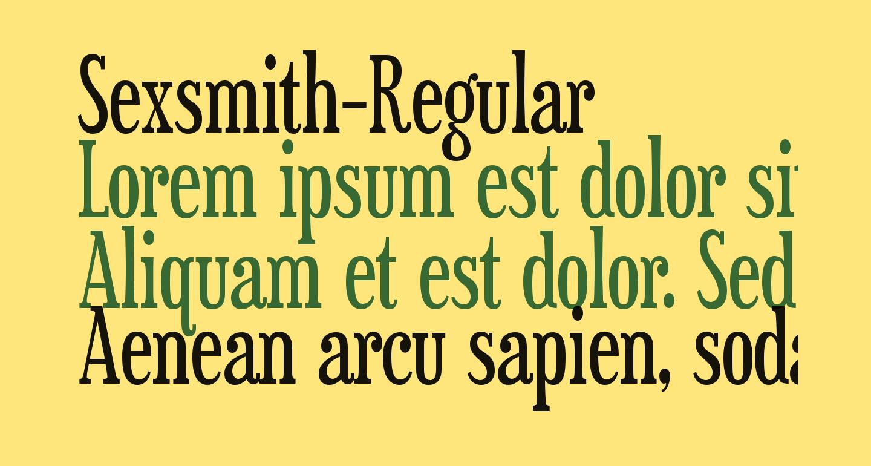 Sexsmith-Regular