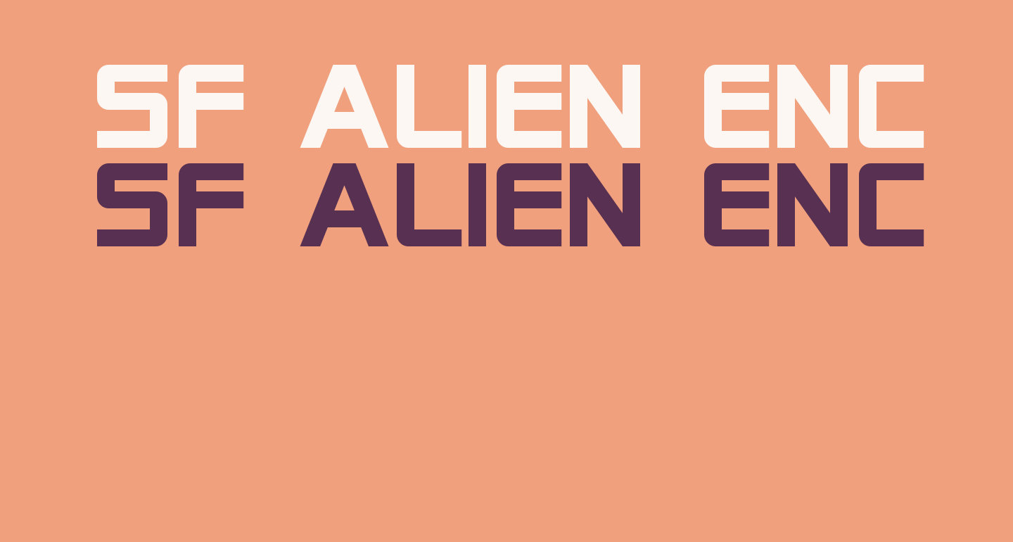 SF Alien Encounters Solid
