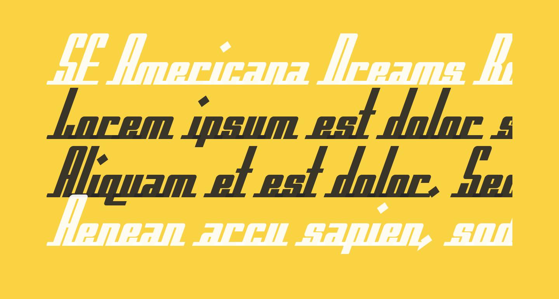 SF Americana Dreams Bold