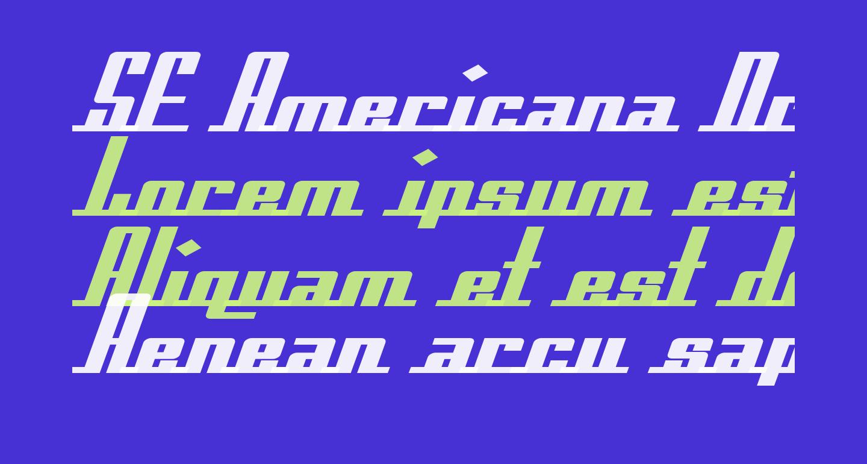 SF Americana Dreams Extended Bold