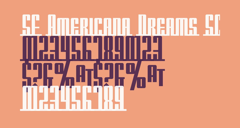 SF Americana Dreams SC Upright Bold