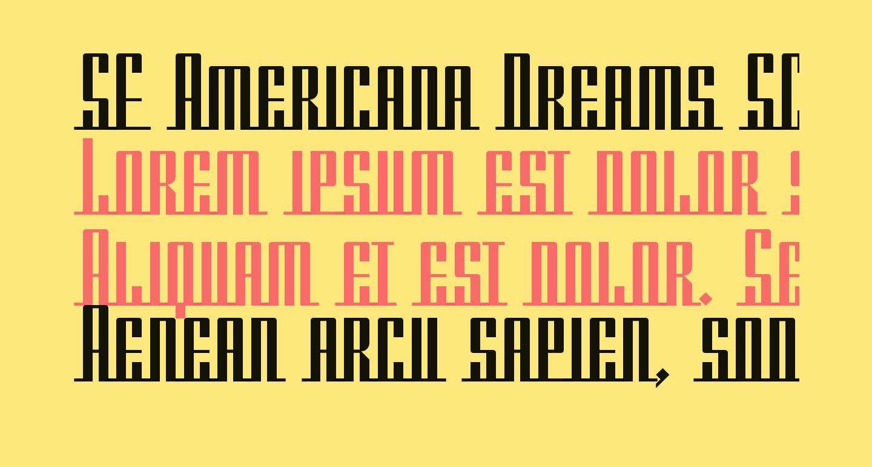 SF Americana Dreams SC Upright