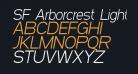SF Arborcrest Light Oblique
