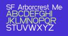 SF Arborcrest Medium