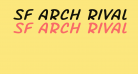 SF Arch Rival Extended Italic