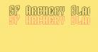 SF Archery Black SC Outline