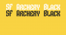 SF Archery Black SC