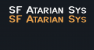 SF Atarian System Extended