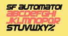 SF Automaton Bold Oblique