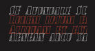 SF Avondale SC Outline Italic