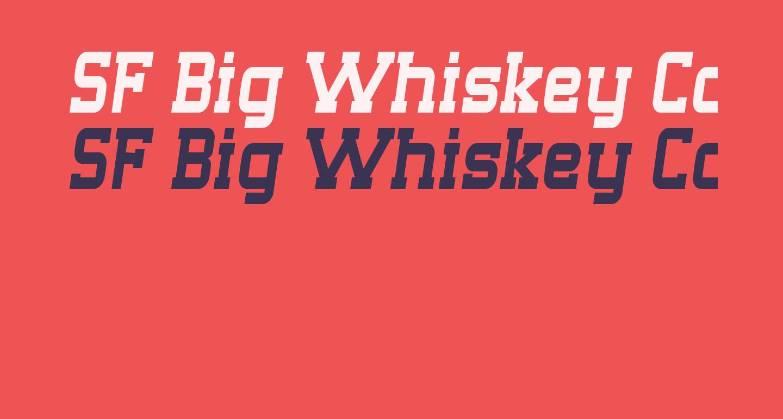 SF Big Whiskey Condensed