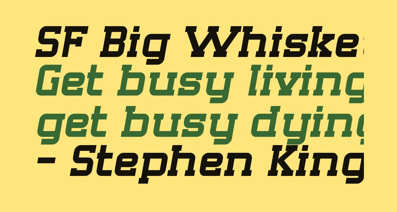 SF Big Whiskey