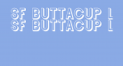 SF Buttacup Lettering Shaded