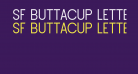 SF Buttacup Lettering