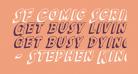SF Comic Script Shaded
