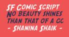 SF Comic Script