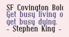 SF Covington Bold