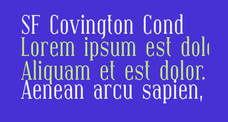 SF Covington Cond