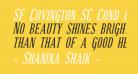 SF Covington SC Cond Bold Italic