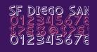 SF Diego Sans Shaded