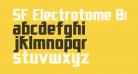SF Electrotome Bold