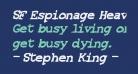 SF Espionage Heavy Oblique
