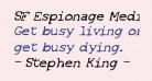 SF Espionage Medium Oblique