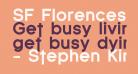 SF Florencesans Black