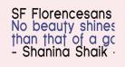 SF Florencesans Cond Bold