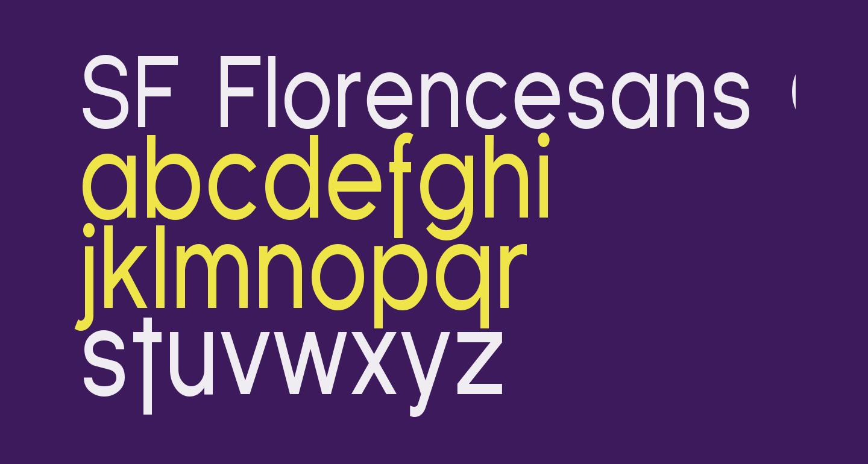 SF Florencesans Cond