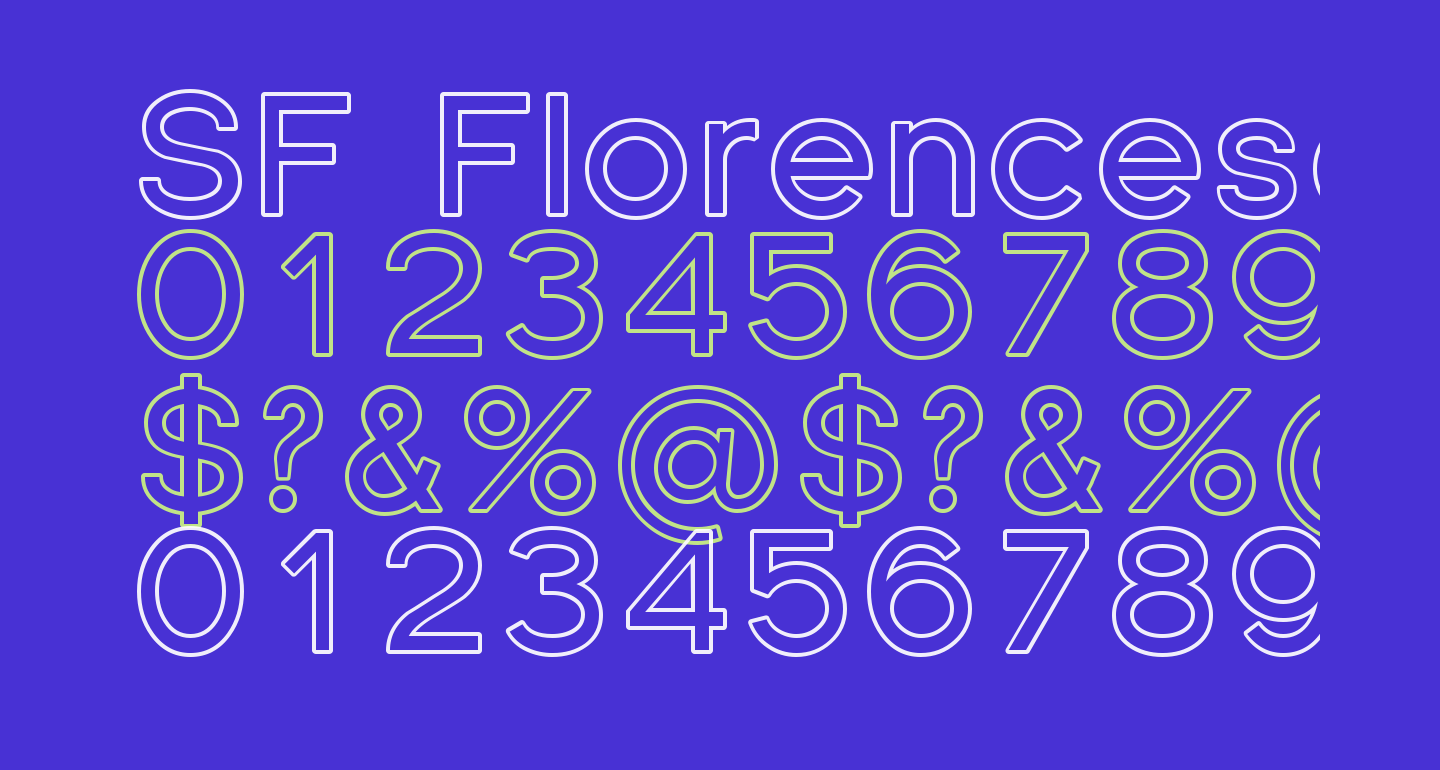 SF Florencesans Outline