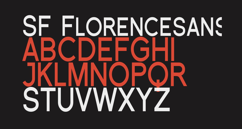 SF Florencesans SC Cond Bold