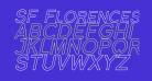 SF Florencesans SC Outline Italic