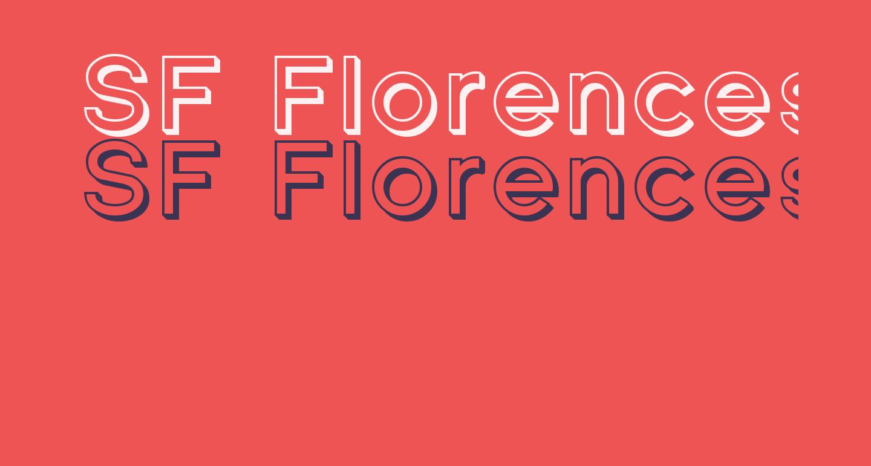 SF Florencesans Shaded