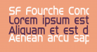 SF Fourche Condensed
