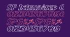 SF Intellivised Outline Italic