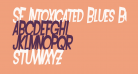 SF Intoxicated Blues Bold Oblique